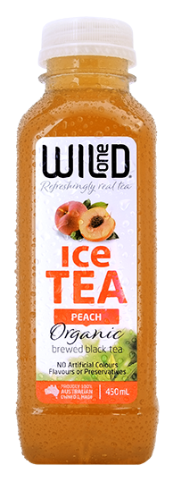 Organic Peach Ice Tea x 12