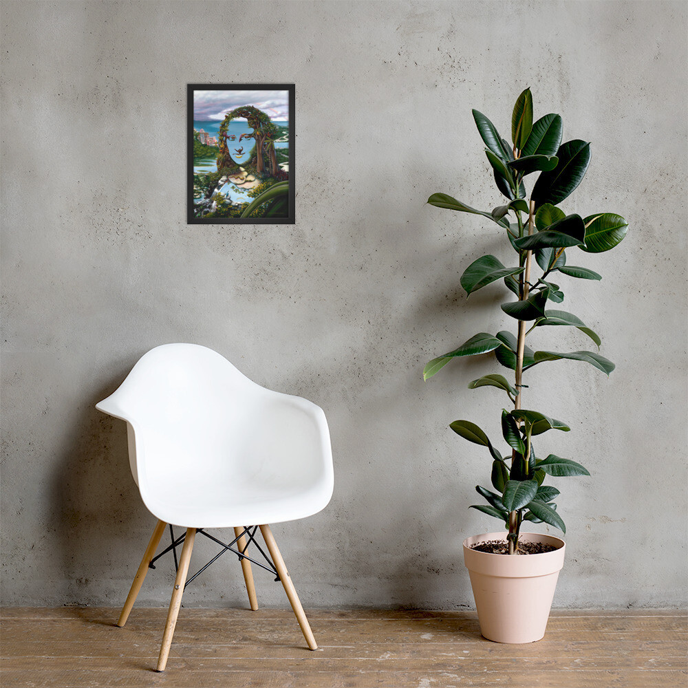 """""""Mona & Monkeys"""" Framed Print"""