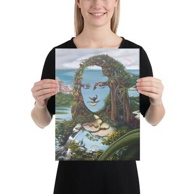 """""""Mona & Monkeys"""" Canvas Print"""