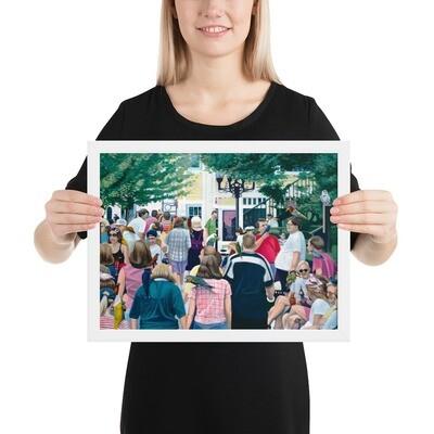 """Messengers"" Framed Print"