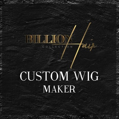 Custom Closure Wig Unit Maker
