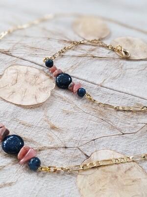 Lapis Lazuli Mask Chain
