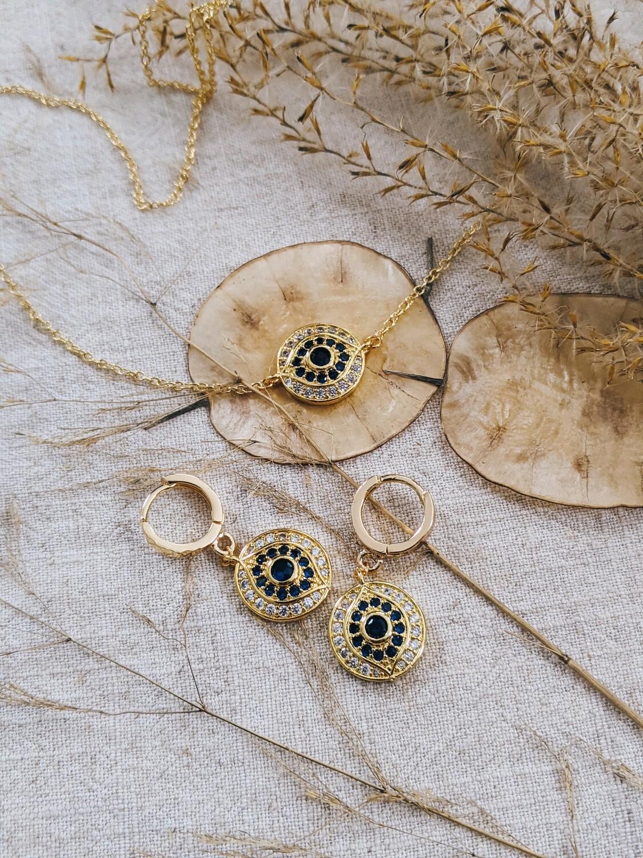 Ezra Necklace + Earring Set