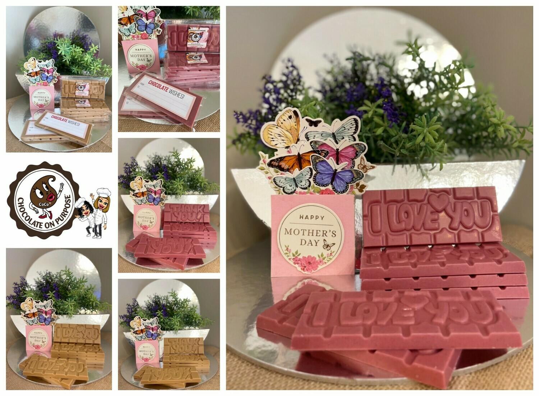 Mothers' Day Chocolate Bar Gift Pack - 'Mandaang Guwu' (Thank You) & 'Marrumban-nhugu' (I Love You)