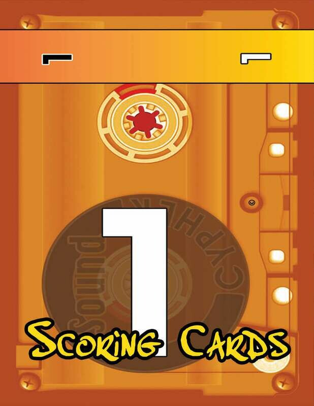 The Sound Cypher: Scoring Cards
