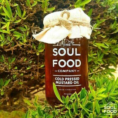 Organic Cold Pressed Mustard Oil -300g