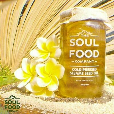 Organic Cold Pressed Sesame Seed Oil -300g
