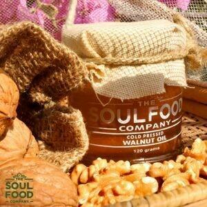 Organic Cold Pressed Walnut Oil - 120ml