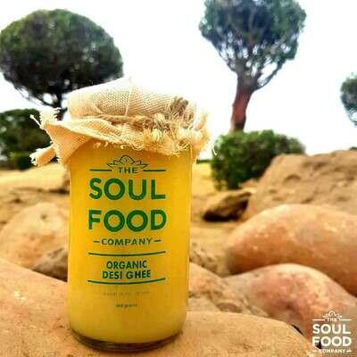 Organic Desi Ghee (butter Based) - 300g