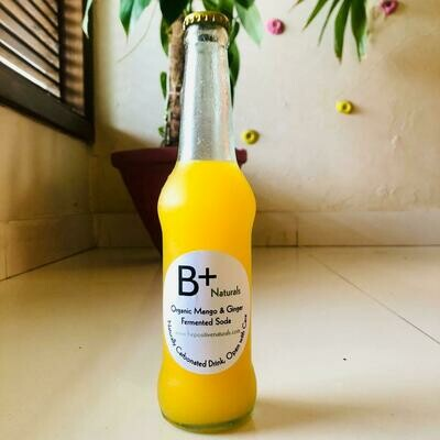 Organic Mango & Ginger Fermented Soda - 260ml