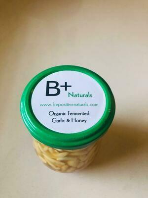 Organic Fermented Garlic & Honey - 200g