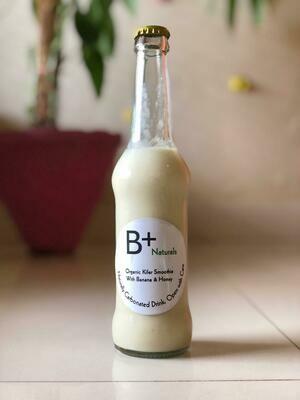 Organic Kefir Smoothie with Banana & Honey - 260ml