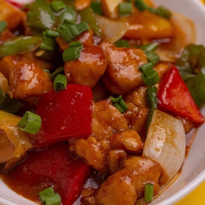 Chicken in Hot Garlic Sauce - 2 Persons Serving