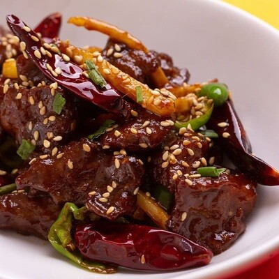 Beef Chilli Dry (Tenderloin) - 2 Persons Serving