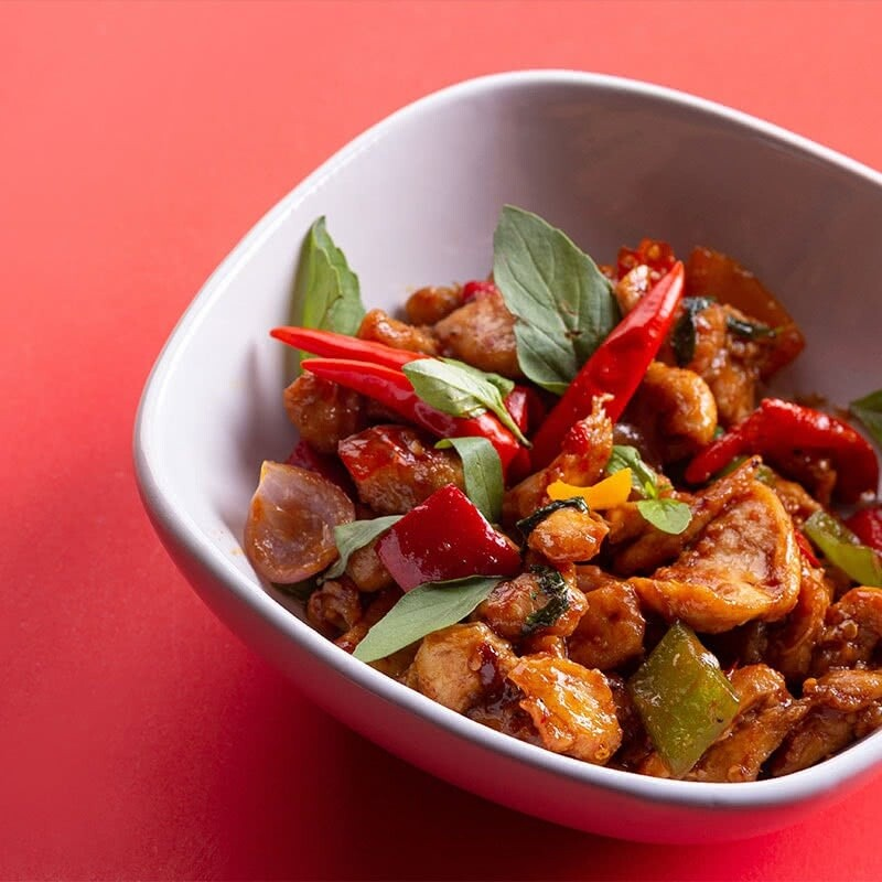 Thai Basil Chicken - 2 Persons Serving
