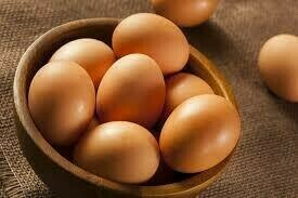 Free Range Farm Fresh Eggs - Dozen