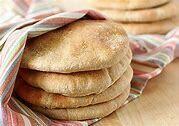 Whole Wheat Pita Bread x 4