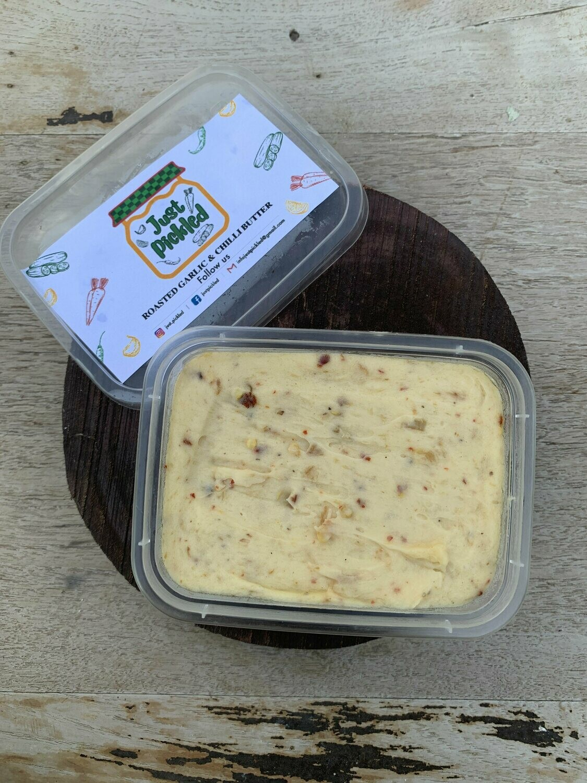 Roasted Garlic & Chilli Butter - 150g