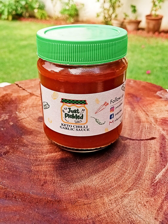 Keto Chilli Garlic Sauce - 150g