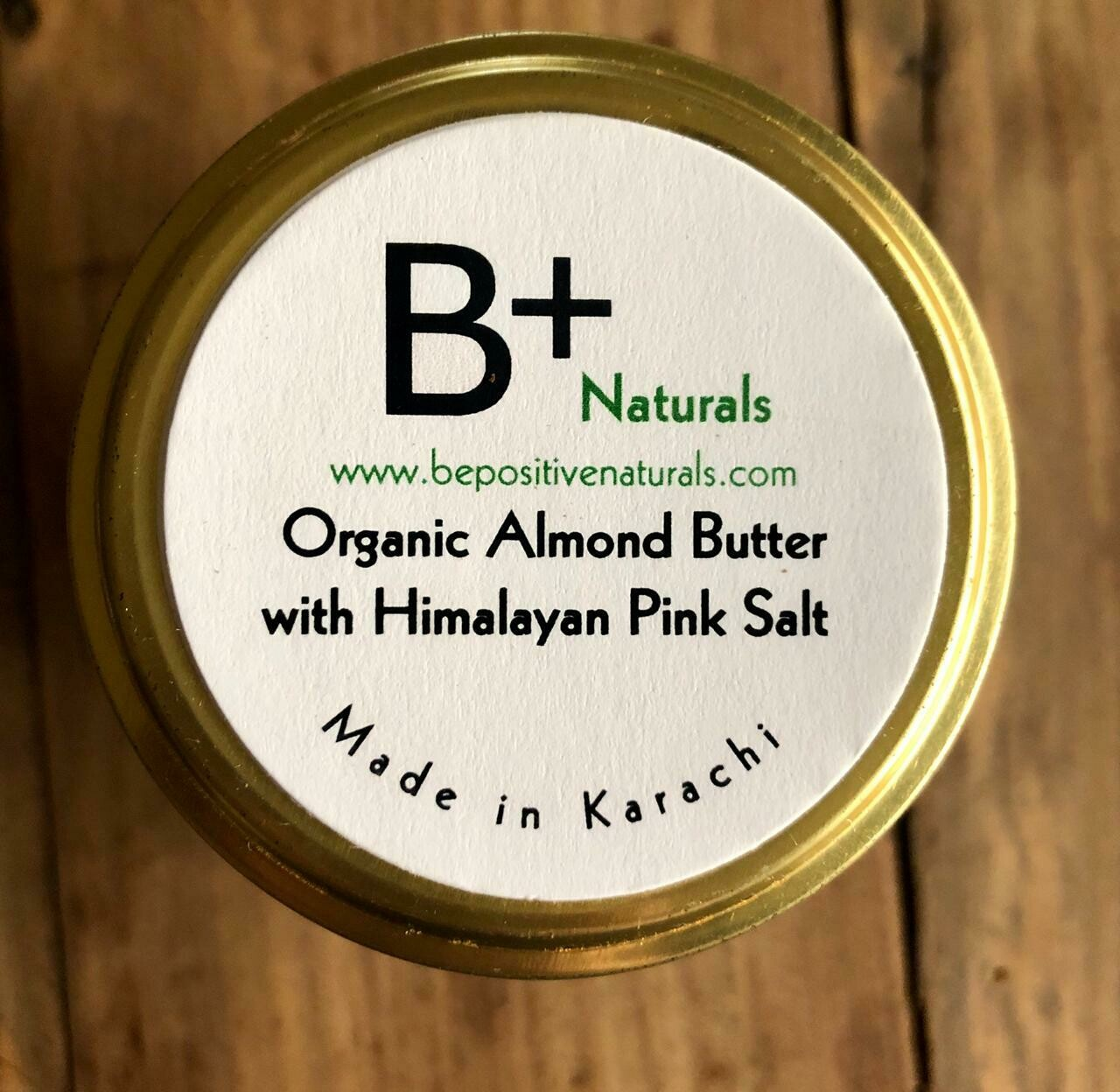 Organic Almond Butter with Himalayan Pink Salt - 300g