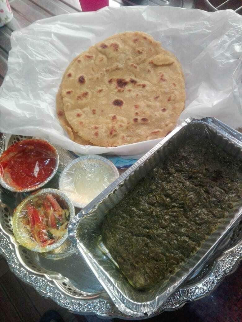 Homemade Sarson Ka Saag Meal (For 2 persons)