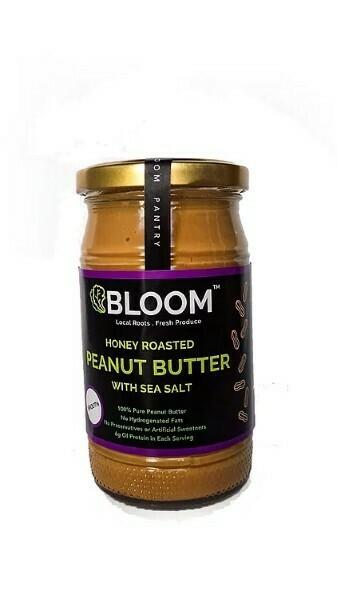 Honey Roasted Peanut Butter with Sea salt - 330g