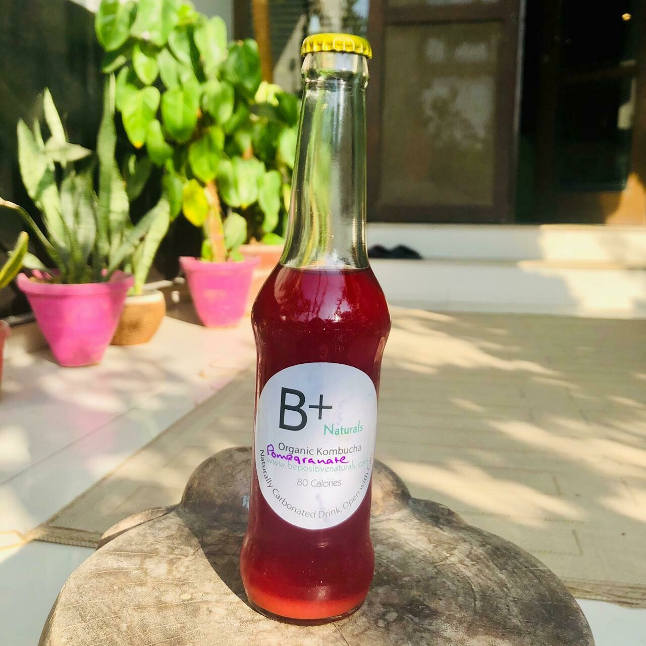 Organic Pomegranate Kombucha - 260ml