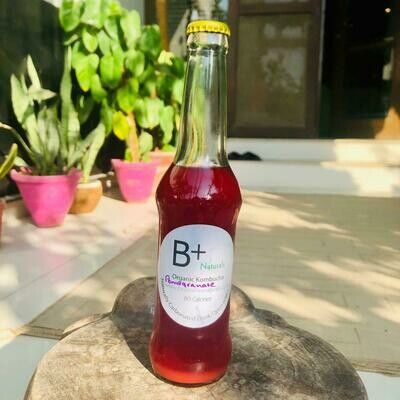 Organic Pomegranate Kombucha - 260ml