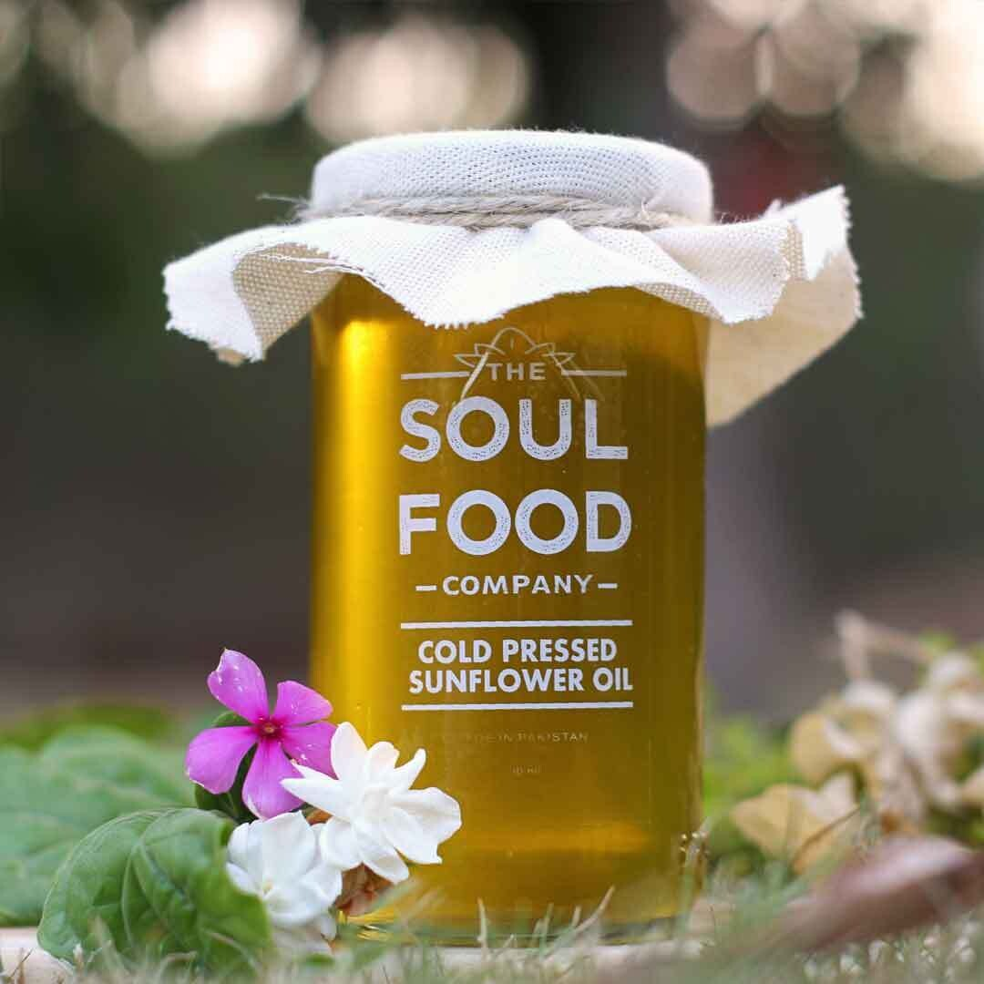 Cold-Pressed Sunflower Oil - 300g