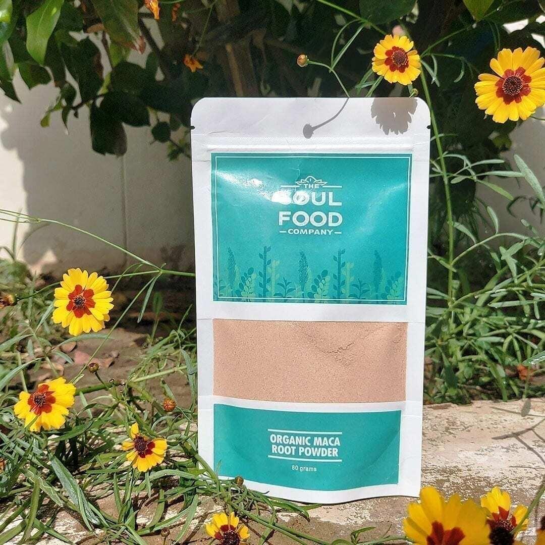 Organic Maca Root Powder - 80g