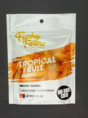 Funky Farms Gummies - 5 Pack Tropical Fruit