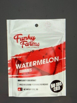 Funky Farms Gummies - 5 Pack Watermelon