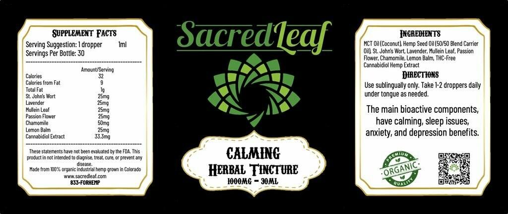 SL - HerbalTincture Calming