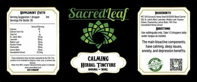 SL - HerbalTincture Calming