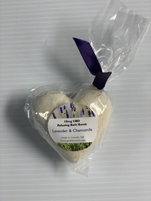 Heart SHape Bath Bomb 10 MG Relax Bath Bomb