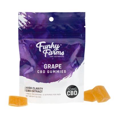 Funky Farms Gummies - 5 Pack Grape