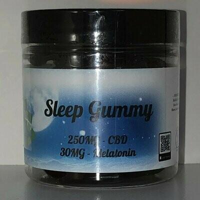 Sleep Gummies 250 MG with Melatonin Cherries 10 count