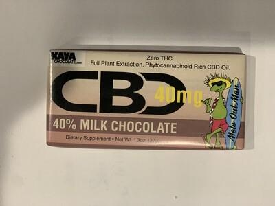 Kava Milk Chocolate 40mg