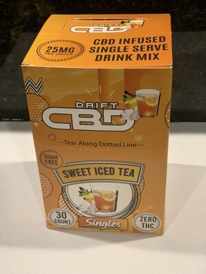 DRIFT CBD INFUSED DRINK MIX SWEET TEA