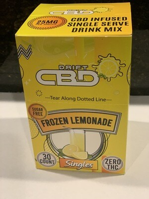 DRIFT CBD INFUSED DRINK MIX LEMONADE