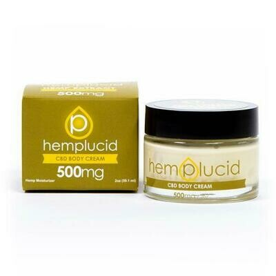 Hemplucid Full-Spectrum CBD Body Cream 500MG