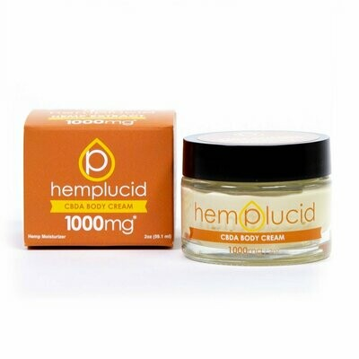 Hemplucid Full-Spectrum CBDA Body Cream