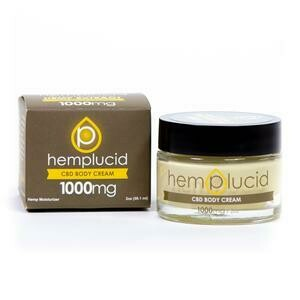 Hemplucid Full-Spectrum CBD Body Cream 1000MG