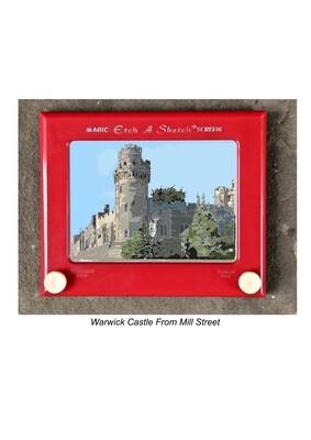 Warwick Castle From Mill Street