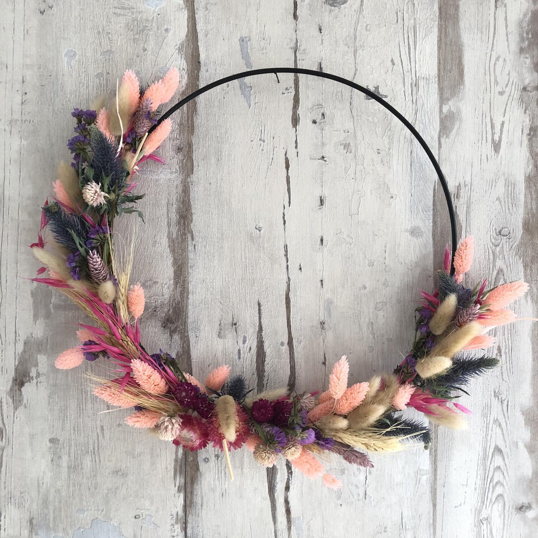 Flowerhoop roze