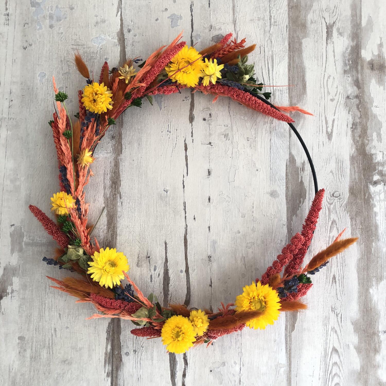 Flowerhoop oranje/geel