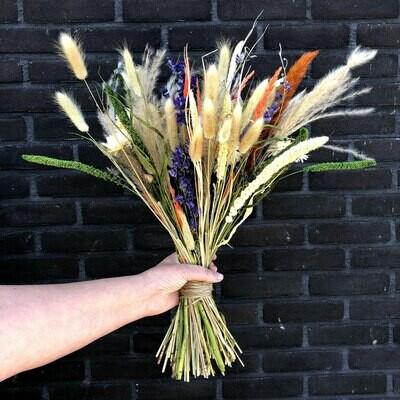 Droogbloemen boeket 'Willemina'