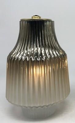 Windlicht LED grijs klein