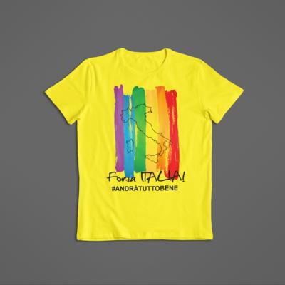 Tshirt Bambino Forza Italia ver.1