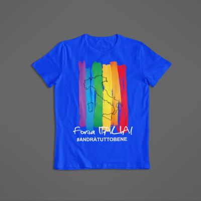 Tshirt Unisex Forza Italia ver.1